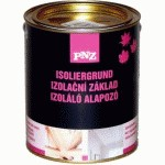 PNZ IZOLÁLÓ ALAPOZÓ- ISOLIRGRUND 0.75 lit