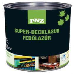 PNZ SUPERDECK- LASUR 0,75 lit (kültéri és beltéri környezetbarát lazúr játékokra, építményekre, berendezésekre..)