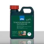 PNZ TEAKFA TISZTÍTÓ- TEAKHOLZ REINIGER / Szürküléseltávolító/ 1.0 lit  (egzotikus és más felületek tisztítására)