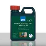PNZ TEAKFA TISZTÍTÓ- TEAKHOLZ REINIGER / Szürküléseltávolító/ 2.5  lit (egzotikus és más felületek tisztítására)
