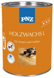 PNZ HOLZ-WACHS-L- kültéri faviasz - 0.75 liter (kültéri és beltéri időjárásálló faviasz..)